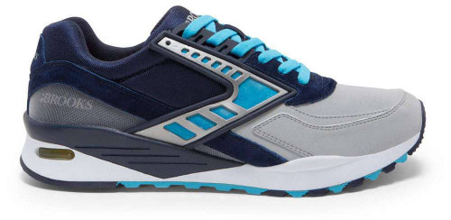 Brooks Heritage Regent Mens Category: Fashion Sneakers Color: Peacoact - CyanBlue - NavyReflective ItemNumber: M1102051D-456