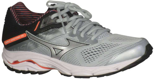 Mizuno Wave Inspire 15 Wide Womens Category: Running Color: Sky Grey - Silver ItemNumber: W411053-9Q73