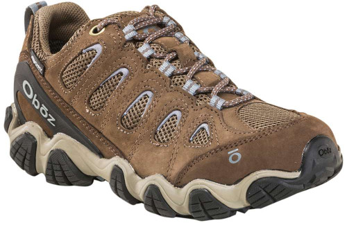 Oboz Sawtooth II Low BDry Womens Category: Outdoor Color: Brindle - Tradewinds Blue ItemNumber: W23402BRTB
