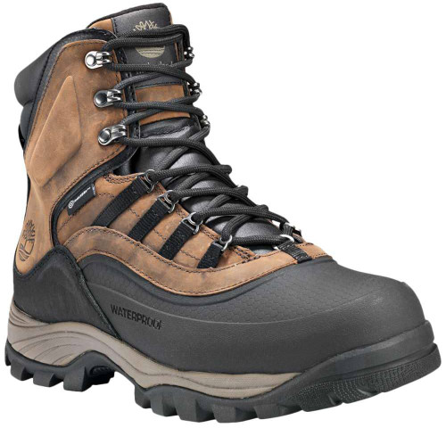 Timberland Chocorua Trail Shell Toe WP Ins Mens Category: Boots Color: Dark Brown ItemNumber: MTB0A1QKM