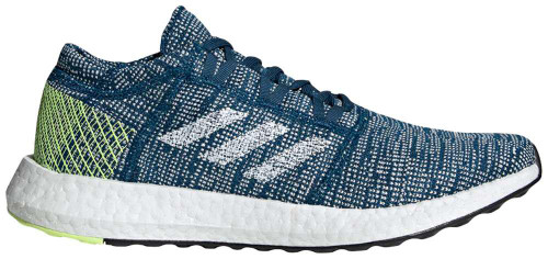 Adidas PureBOOST Go Mens Category: Running Color: GoLegend Marine - Cloud White - Hi-Res Yellow ItemNumber: MB37804