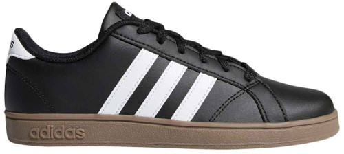 Adidas Baseline Boys Category: Fashion Sneakers Color: Core Black - White - Gum 5 ItemNumber: BB43874