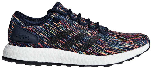 Adidas PureBOOST Mens Category: Running Color: Collegiate Navy - Core Black - Scarlet ItemNumber: MCM8305