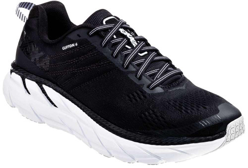 Hoka One One Clifton 6 Mens Category: Running Color: Black - White ItemNumber: M1102872-BWHT