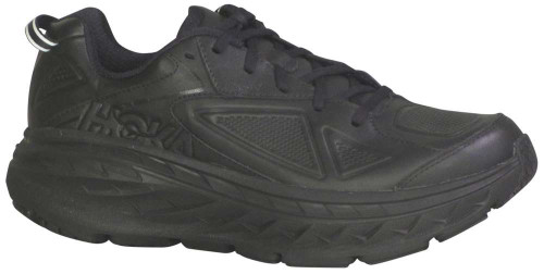 Hoka One One Bondi Leather Mens Category: Running Color: Black ItemNumber: M1019496-BLK
