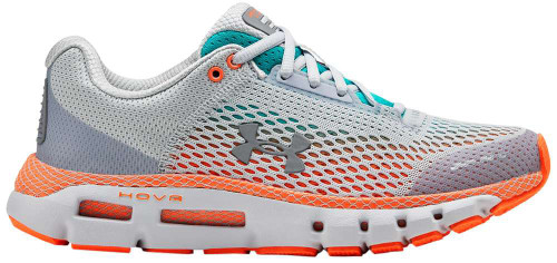Under Armour HOVR Infinite Womens Category: Running Color: Halo Grey - Breathtaking Blue - Halo Grey ItemNumber: W3021396-109