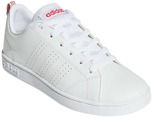 Adidas Clean Advantage Girls Category: Fashion Sneakers Color: CloudWhite - CloudWhite - SuperPink ItemNumber: GBB9976