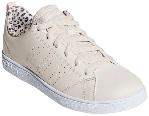 Adidas Clean Advantage Girls Category: Fashion Sneakers Color: Beige - Raw White - Cloud White ItemNumber: GF36244