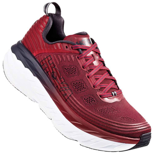 Hoka One One Bondi 6 Mens Category: Running Color: Rio Red - Obisidian ItemNumber: M1019269-RROS