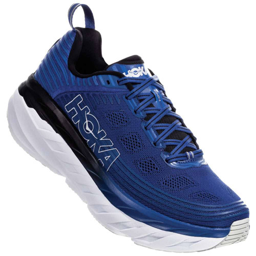 Hoka One One Bondi 6 Wide Mens Category: Running Color: Galaxy Blue - Anthracite ItemNumber: M1019271-GBAN