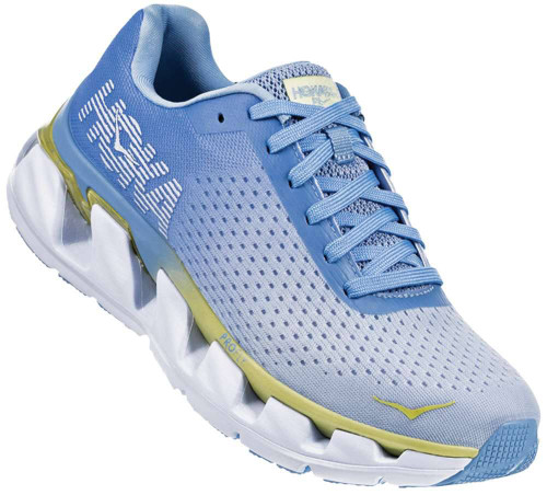 Hoka One One Elevon Womens Category: Running Color: Placid Blue - Lime Sherbet ItemNumber: W1019268-PBLSR