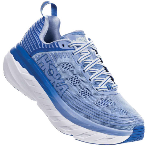 Hoka One One Bondi 6 Wide Womens Category: Running Color: Serenity - Palace Blue ItemNumber: W1019272-SPCB