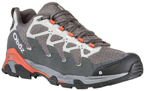Oboz Cirque Low BDry Mens Category: Outdoor Color: Pewter - Burnt Orange ItemNumber: M41501PEBO