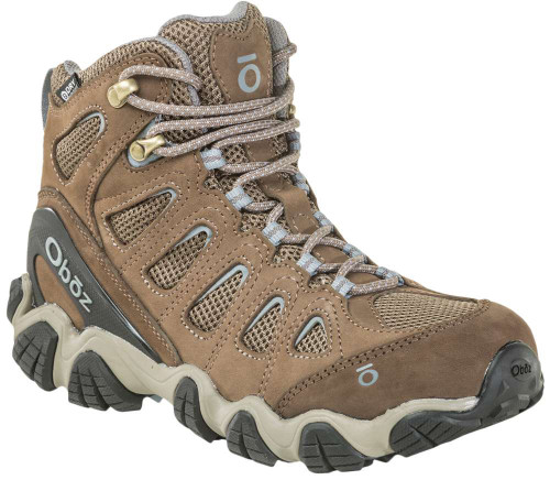 Oboz Sawtooth II Mid Waterproof Womens Category: Boots Color: Brindle - Tradewinds Blue ItemNumber: W23702BRTB