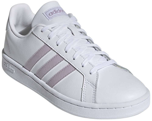 Adidas Grand Court Womens Category: Fashion Sneakers Color: Cloud White - Cloud White - Grey Two ItemNumber: WEE7465