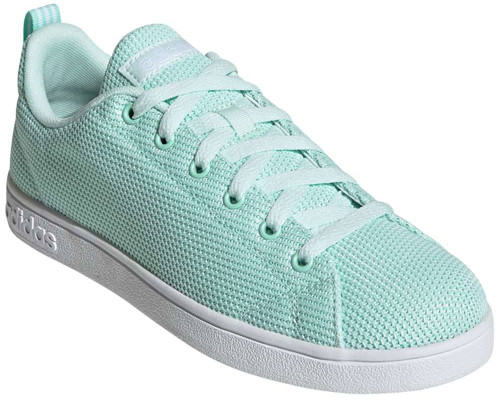 Adidas VS Advantage Clean Womens Category: Fashion Sneakers Color: Clear Mint - Cloud White - Ice Mint ItemNumber: WF34443