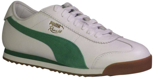 Puma Roma 68 OG Mens Category: Fashion Sneakers Color: Puma White - Amazon Green ItemNumber: M370601-02