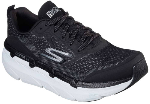 Skechers Max Cushioning Premier Womens Category: Running Color: Black - White ItemNumber: W17690BKW