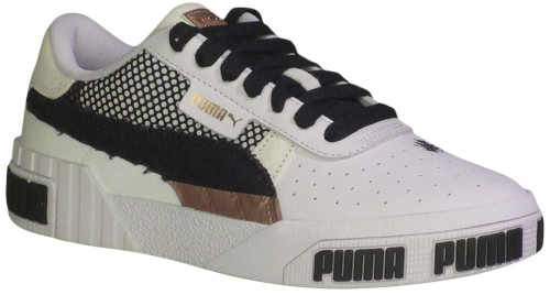 Puma Cali Bold Unexpected Mixes Womens Category: Fashion Sneakers Color: Puma White - Rose Gold ItemNumber: W372129-01