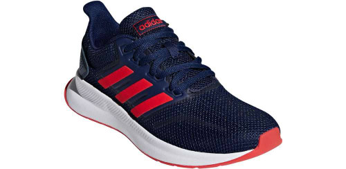 Adidas RunFalcon Boys Category: Running Color: Dark Blue - Active Red - Core Black ItemNumber: BF36543
