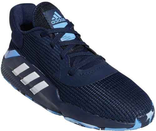 Adidas Pro Bounce 2019 Low Mens Category: Basketball Color: Collegiate Navy - White - Real Blue ItemNumber: MF97286