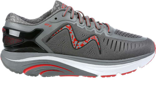 Mbt GT Womens Category: Running Color: Deep Grey - Orange ItemNumber: W702024-1344Y