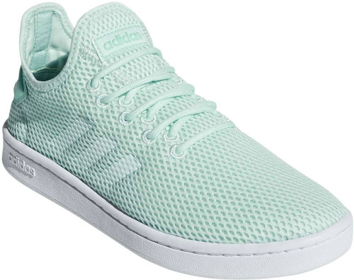 Adidas Court Adapt Womens Category: Fashion Sneakers Color: Ice Mint - Ice Mint - Clear Mint ItemNumber: WF36479