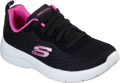 Skechers Dynamight 2-0 Eye To Eye Girls Category: Fashion Sneakers Color: Black - Hot Pink ItemNumber: G81323L-BKHP