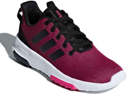 Adidas CloudFoam Racer TR Girls Category: Cross Training Color: RealMagenta - CoreBlack - RealMagent ItemNumber: GB75659