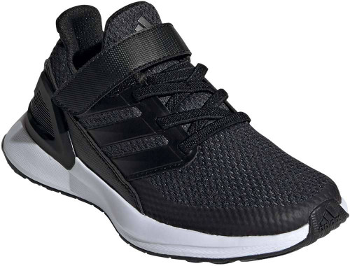 Adidas RapidaRun Boys Category: Running Color: Core Black - Carbon - Cloud White ItemNumber: BEE7076