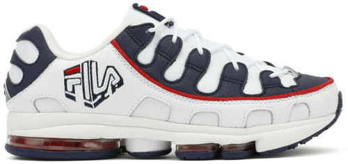 Fila Silva Trainer Mens Category: Running Color: White - Fila Navy - Fila Red ItemNumber: M1RM00402-125