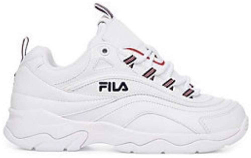 Fila Fila Ray Womens Category: Fashion Sneakers Color: White - Fila Navy - Fila Red ItemNumber: W5RM00522-125