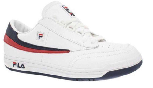 Fila Original Tennis Mens Category: Fashion Sneakers Color: White - Fila Navy - Fila Red ItemNumber: M1VT13040-150