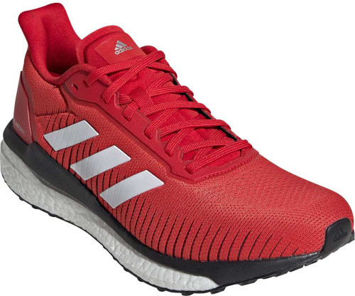 Adidas Solar Drive 19 Mens Category: Running Color: Scarlet - Cloud White - Core Black ItemNumber: MEF0790