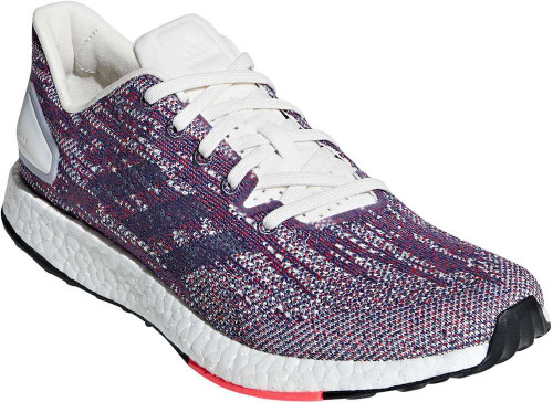 Adidas PureBoost DPR Womens Category: Running Color: Cloud White - Raw Indigo - Shock Red ItemNumber: WF36447