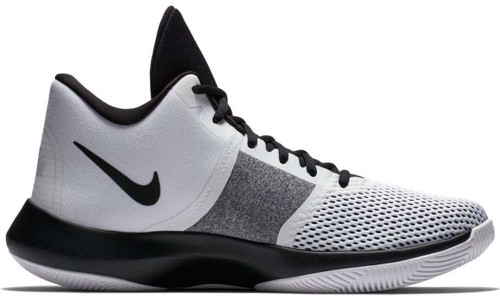 Nike Air Precision II Mens Category: Basketball Color: White - Black ItemNumber: MAA7069-100