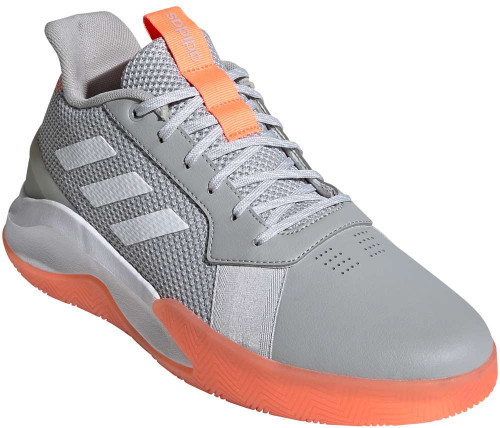 Adidas Run The Game Mens Category: Basketball Color: Grey Two - White Sig Coral ItemNumber: MEG0982
