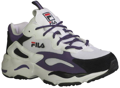 Fila Ray Tracer Womens Category: Fashion Sneakers Color: White - Black - Electric Purple ItemNumber: W5RM01020-118