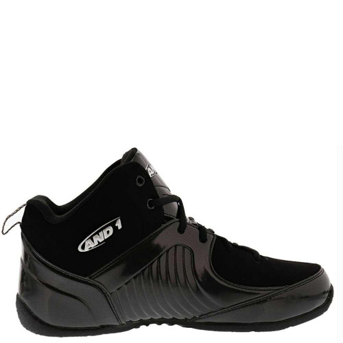 And1 Tsunami Mens Category: Basketball Color: Black - Silver - Black ItemNumber: MD3049-MBSB