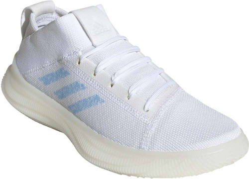 Adidas PureBoost Trainer Womens Category: Cross Training Color: Cloud White - Glow Blue - Core White ItemNumber: WDB3374