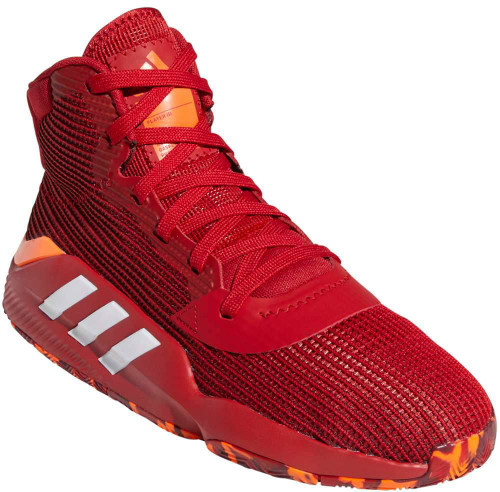 Adidas Pro Bounce 2019 Mens Category: Basketball Color: Power Red - Cloud White - Solar Orange ItemNumber: MEE3898