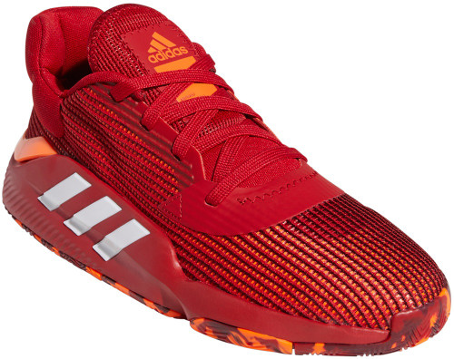 Adidas Pro Bounce 2019 Low Mens Category: Basketball Color: Power Red - CloudWhite - Solar Orange ItemNumber: MEF0471