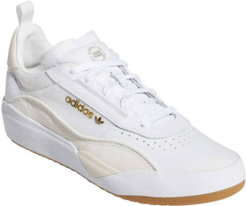 Adidas Liberty Cup Mens Category: Skate Color: Cloud White - Gold Metallic - Gum ItemNumber: MEF1151