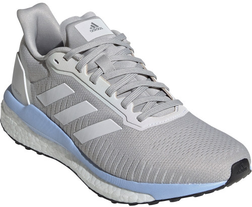 Adidas Solar Drive 19 Womens Category: Running Color: Grey Two - Cloud White - Glow Blue ItemNumber: WEF0780