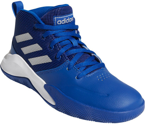 Adidas Own The Game Boys Category: Basketball Color: Collegiate Royal - Matte Silver - Grey Six ItemNumber: BEG1363