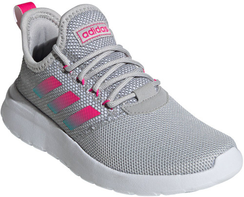 Adidas Lite Racer Reborn Womens Category: Running Color: Grey Two - Shock Pink - Hi-Res Aqua ItemNumber: WEF9428