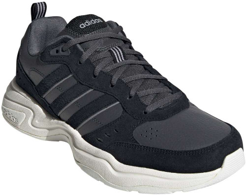 Adidas Strutter Mens Category: Walking Color: Grey Six - Core Black - Running White ItemNumber: MEG8005