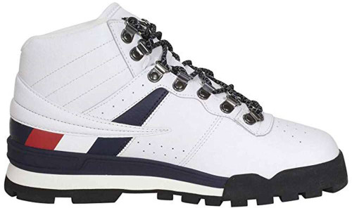 Fila Fitness Hiker Mid Mens Category: Boots Color: White - Fila Navy - Black ItemNumber: M1HM00527-117