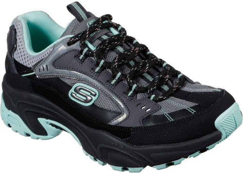 Skechers Stamina Lower Creek Womens Category: Cross Training Color: Black - Mint ItemNumber: W149017BKMN