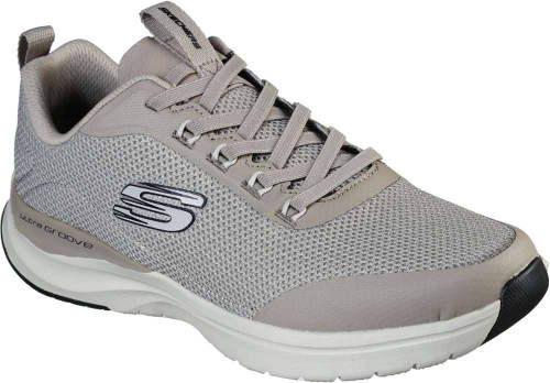 Skechers Ultra Groove Live Session Mens Category: Cross Training Color: Taupe - Black ItemNumber: M232031TPBK